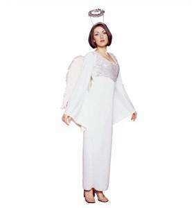 Adult White Angel Costume