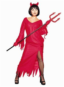 Adult Elegant Devil Costume