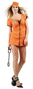 Adult Sexy Convict Costume