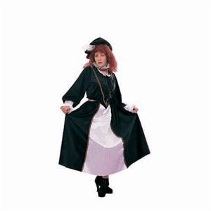 Adult Woman's Plus Size Royal Scottish Costume