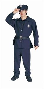 Adult Plus Size Police Costume