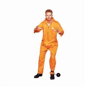 Adult Plus Size Prisoner Costume  sc 1 st  Find Costume & Adult Plus Size Prisoner Outfit
