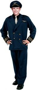 Adult Pilot Costume (Plus Size)