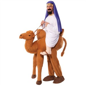 Adult Ride A Camel Piggyback Costume