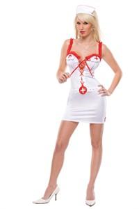 Sexy Fetish Florence Nurse Costume