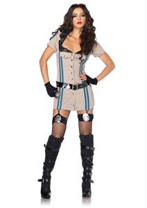 Sexy Highway Patrol Honey Costume