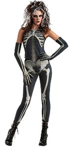 Sexy Skeleton Costume - Skelee Girl