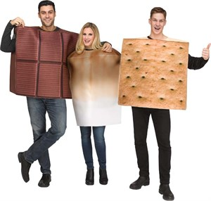 S'mores Costume - 3 Piece Set