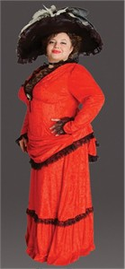Plus Size Victorian Lady Costume