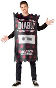 Taco Bell Hot Sauce Packet Costume - Diablo