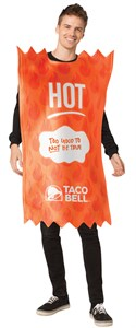 Taco Bell Hot Sauce Packet Costume - Hot