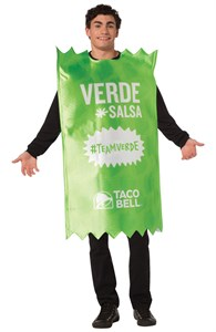 Taco Bell Hot Sauce Packet Costume - Verde