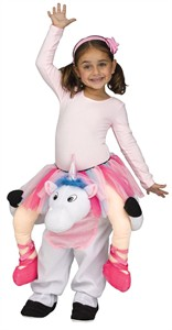 Toddler Carry Me Unicorn Costume