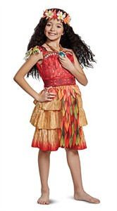 Kids Moana Deluxe Costume