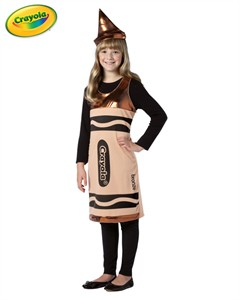 Tween Crayola Crayon Costume - Bronze  sc 1 st  Find Costume : crayola crayon costume adults  - Germanpascual.Com