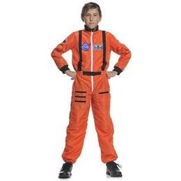 Child Astronaut Costume - Orange