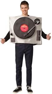 Vinyl Record Turntable Costume