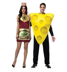 Wine and Cheese Costume Set