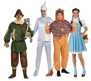 Wizard of Oz Group Costume Set