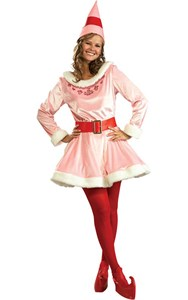 Women's Deluxe Jovi Elf Costume - ELF Movie