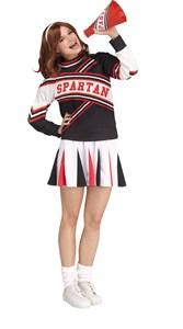 Women's Deluxe Spartan Cheerleader Costume