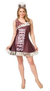 Women's Hershey Bar Costume Dress