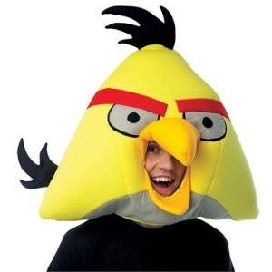 Yellow Angry Bird Mask