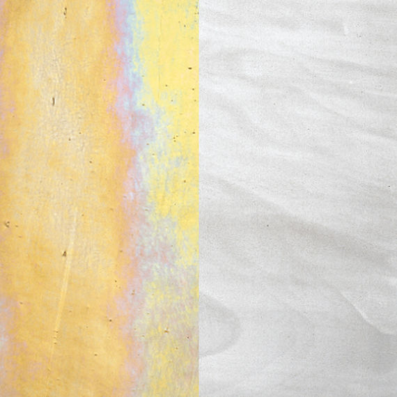 GWC- Gold White Iridescent and White Opalescent combination