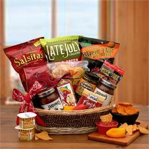 A Little Spice Gourmet Chips & Salsa Gift Basket