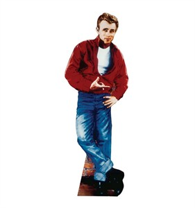 Life Size James Dean Standee