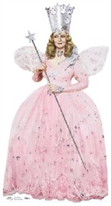 Life Size Glinda Good Witch Standee from Wizard of Oz