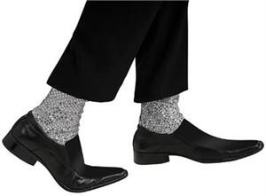 Adult Michael Jackson Sequin Socks