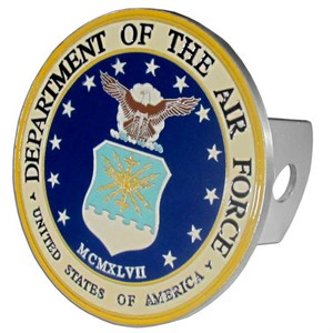 Air Force Department Trailer Hitch Cover