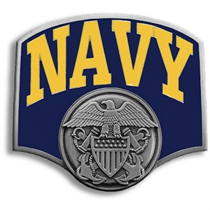 Alternate Navy Hitch Cover