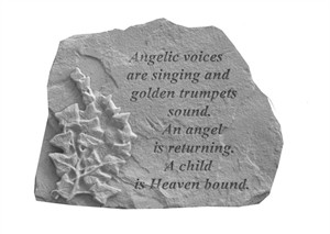 Angelic voices are singing…with Ivy Memorial Stone