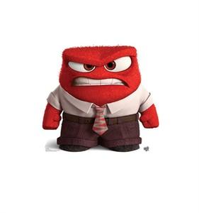 Anger Disney/Pixars Inside Out Cardboard Cutout