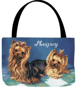 Personalized Dog Tote - Yorkie