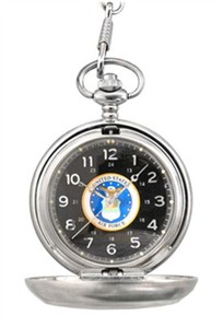 Personalized Air Force Pocket Watch - Heroes Timepiece Collection