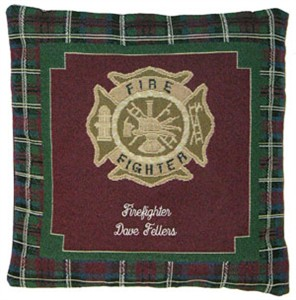 Firefighter Pillow - Heroes Collection