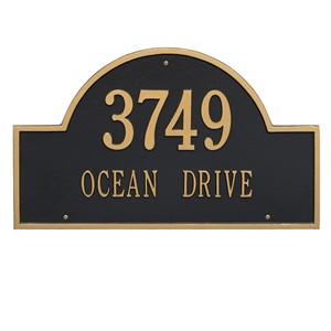 Personalized Arch Estate Address Plaque - 2 Line