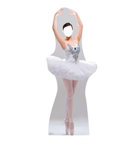 Ballerina Standin Cardboard Cutout