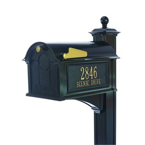 Personalized Balmoral Mailbox Package - Post