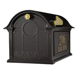 Personalized Balmoral Mailbox Package