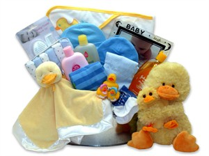 Bath Time Baby Gift Basket- Large