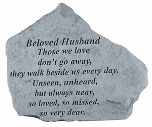 BELOVED HUSBAND Those…Memorial Stone