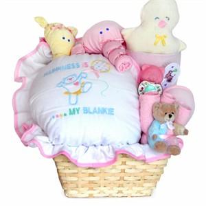 Baby Happiness Gift Basket (Girl)