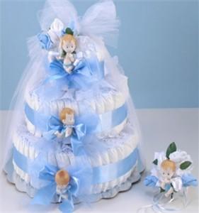 Diaper Cake Delight-Blue