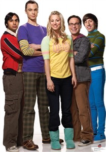 Big Bang Theory Standee