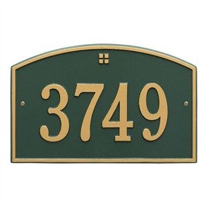 Personalized Cape Charles Address Plaque -1 Line