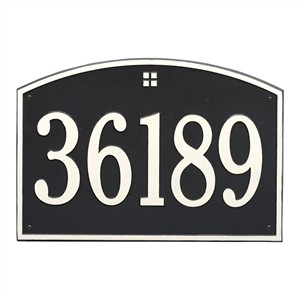 Personalized Cape Charles Large Address Plaque - 1 Line